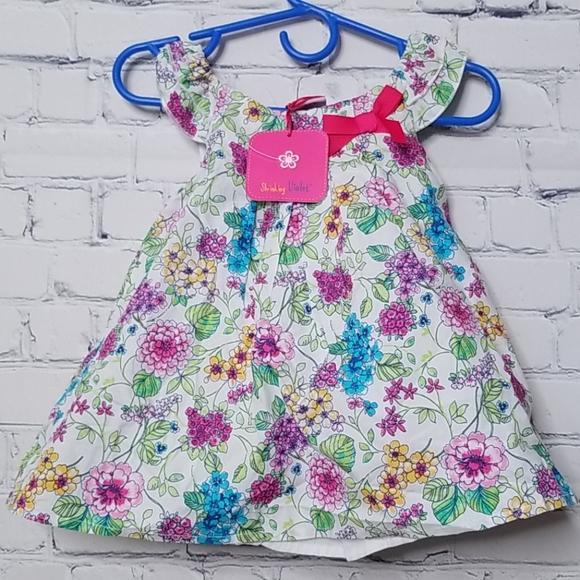 NWT Shrinking Violet baby dress